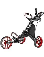 Caddytek EZ-Fold 3 Wiel Golf Push Car,golftrolley