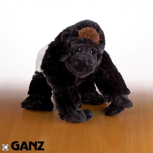Webkinz Silverback Gorilla with Trading Cards by (Webkinz Silverback Gorilla)