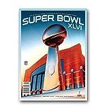 NFL New England Patriots vs. New York Giants 2011 Super Bowl XLVI Program