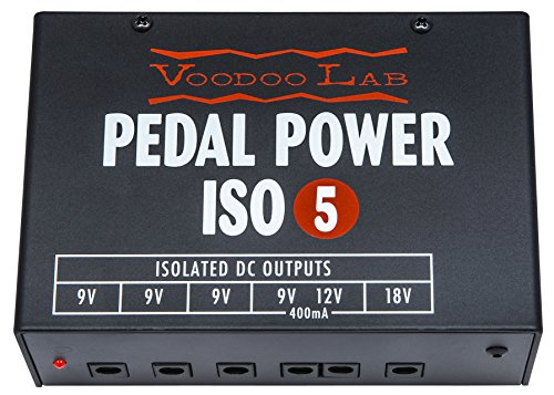 Voodoo Lab Pedal Power ISO-5 Isolated Power Supply (Best Fuel Saver Product)