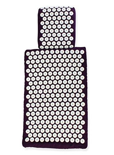 Euro Mat Akupressurmatte und Kissen-Deutscher Testsieger 2016 als Beste Akupressurmatte beim renommierten Produkttester Vergleich-Die Premium-Akupressurmatte - Die einzige Matte bzw. Kissen, die in Europa gemäß EU-Standards mit formbarem Schaum handgefertigt wird - ohne Klebstoffe und nicht-allergische Farbstoffe. VON AKUPUNKTEUREN FÜR VOLLE WIRKUNG ENTWORFEN