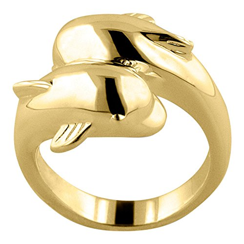 k Gold Vermeil Cremation Ring Size 8 (Gold Vermeil Accents)