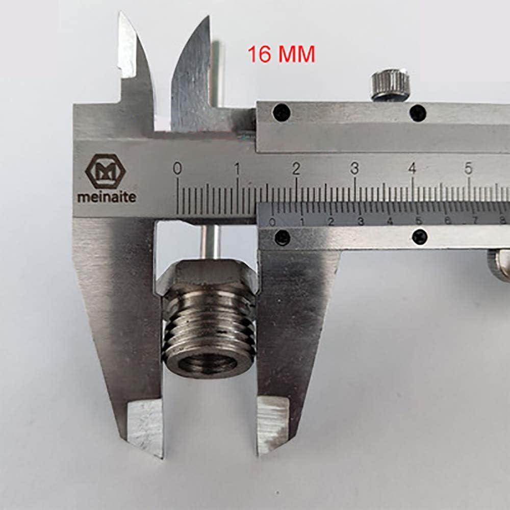 X AUTOHAUX Arandelas de Cobre de 4 mm de di/ámetro Interior 100 Unidades