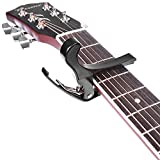 Neewer Quick Change Black Guitar Capo for Acoustic & Electric Guitar (Not Suitable for Ukulele)