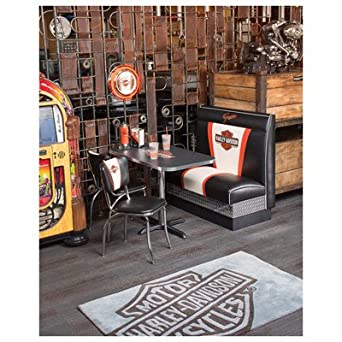 Enjoyable Amazon Com Harley Davidson Banquette Bench Industrial Uwap Interior Chair Design Uwaporg