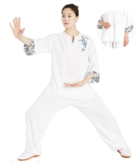 HUI Tai Chi Traje Mujer Maschi Transpirable Estilo Chino Tai ...