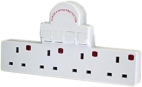 Pro-Elec 4 Gang Adaptor Switch,CAB5186