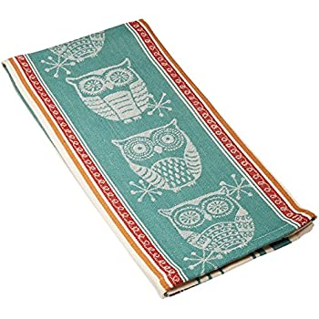 Kay Dee Designs R3448 Spice Road Owl Jacquard Tea Towel