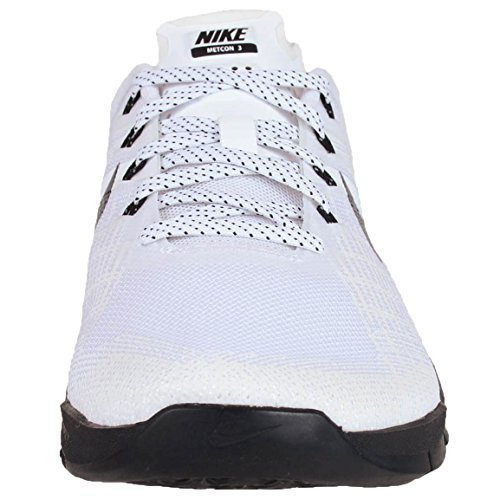 White 3 Black Metcon Wmns Women's White Nike Black wBqR8vq6