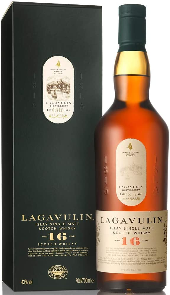 Lagavulin 16 Jahre Single Malt Scotch Whisky