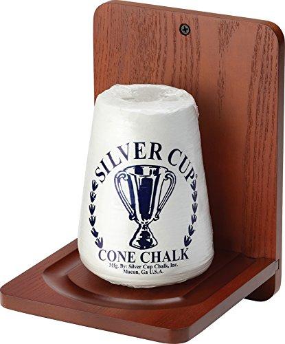 Fat-Cat-BilliardPool-Accessory-Wall-Mounted-Wood-Cone-Chalk-Holder-Mahogany-Finish