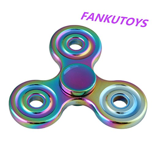 FANKUTOYS Triangle Spinner Fingertip Colorful product image