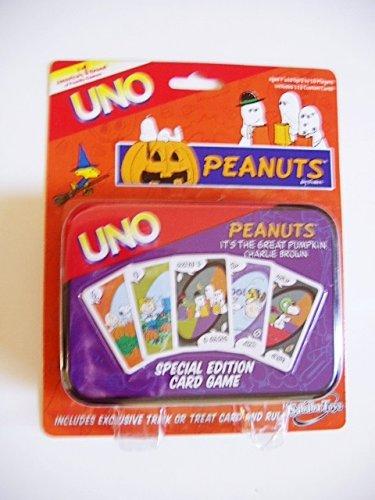 Amazon.com: Peanuts UNO Halloween – Juego de cartas de ...