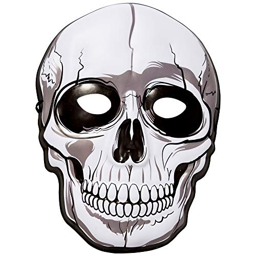 360 Party Lab Augmented Reality Skull Boy Mask for Kids ()