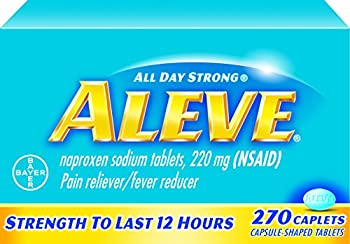 Aleve Caplets With Naproxen Sodium, 220mg (Nsaid) Pain Relieverfever Reducer, 270 Count 0