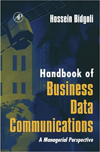 Read online Handbook of Business Data Communications: A Managerial Perspective PDF, azw (Kindle)
