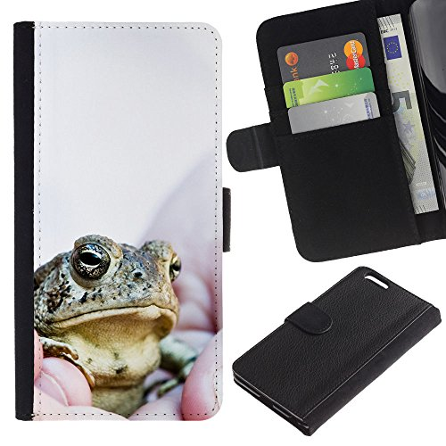 EuroCase - Apple Iphone 6 PLUS 5.5 - Boss Frog - Cuir PU Coverture Shell Armure Coque Coq Cas Etui Housse Case Cover