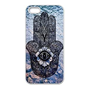 Evil Eye Hamsa Unique Fashion Printing Phone Case for Iphone 5,5S,personalized cover case ygtg610442
