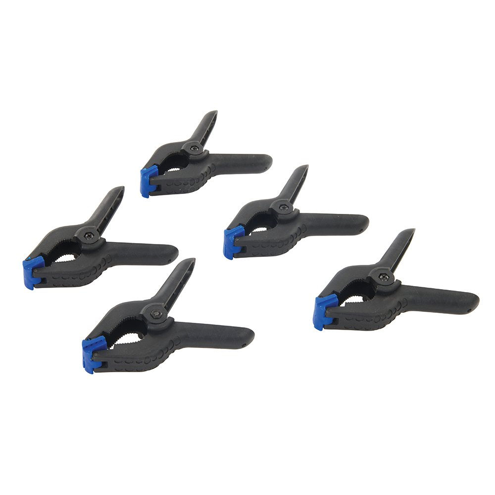 Silverline 435082 Spring Clamps - Set of 5