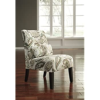 Amazon Com Anora Fabric Armless Contemporary Accent Chair