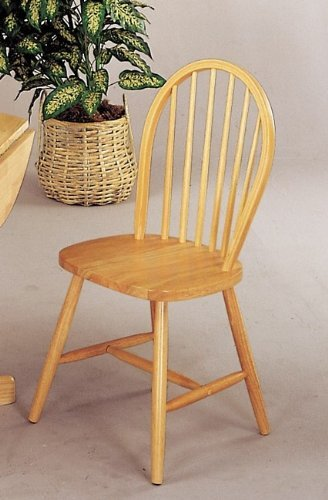 Coaster Windsor Dining Chairs Natural Advantages