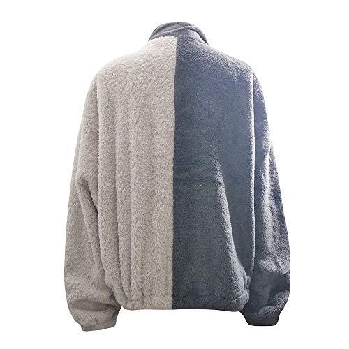 Talla Grande Outwear Chaquetas Abrigo Gris Suéter Mujer Ropa Algodón Parka Invierno Mujer De Ashop Xp6qYY