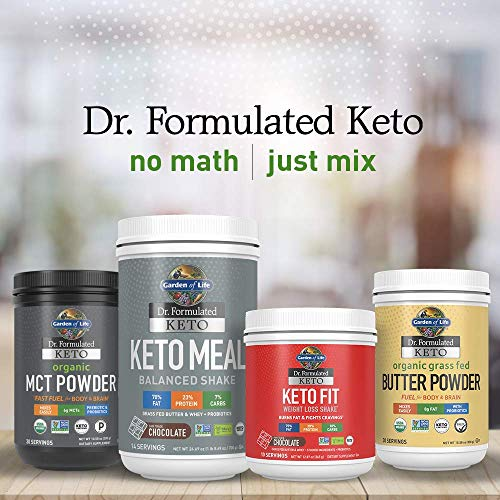 Garden of Life Dr Formulated Keto Organic MCT Powder  30 Servings 6g MCTs from Coconuts Plus