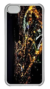 for ipod Touch 4 Case Unique Cool for ipod Touch 4 PC Transparent Cases City Lights At Night 3 Design Your Own for ipod Touch 4 Case
