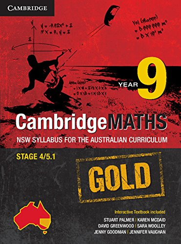 Cambridge Mathematics GOLD NSW Syllabus for the Australian Curriculum Year 9 Pack