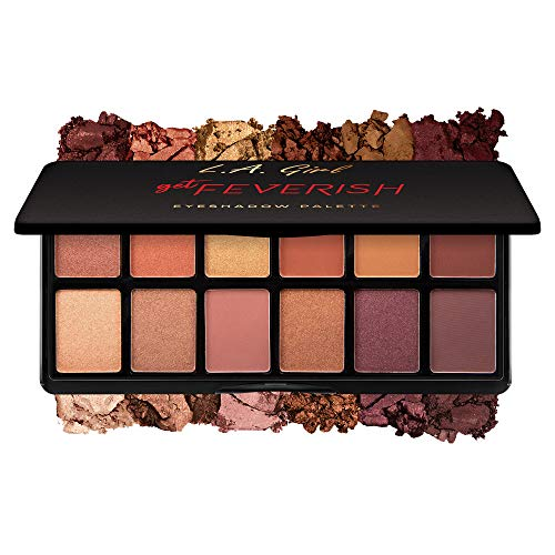 L.A. Girl Fanatic Eyeshadow Palette, Get Feverish, 1 oz