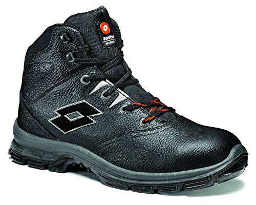 sécurité Lotto Mid 100 Q8362 40 Chaussure Lotto N4405 Works montante Sprint Noir Own10qE