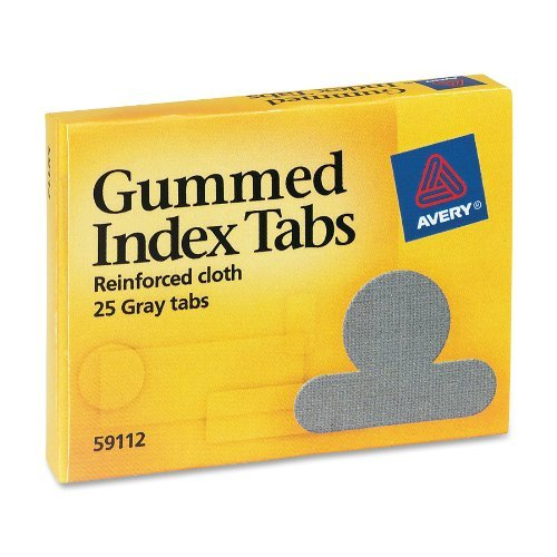 New AVE59112 - Gummed Index Tabs free shipping