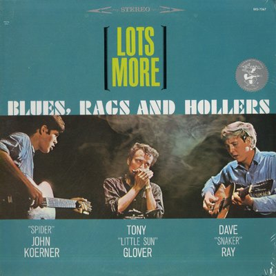 Lots More Blues, Rags and Hollers