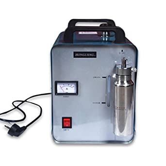 OUKANING Máquina de pulido de llama acrílica de 75 l de oxígeno y hidrógeno de agua