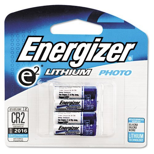Energizer : e2 Lithium Photo Battery, CR2, 3Volt -:- Sold as 2 Packs of - 1 - / - Total of 2 Each by Energizer