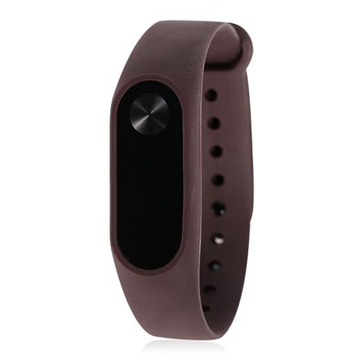 Pulsera Xiaomi Mi Band 2, Lanskirt Correa de Repuesto de Suave Banda de Elegante Repuesto de Color Sólido TPU Correa de Reloj Inteligente Xiaomi Mi Band 2: ...