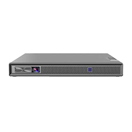 Mini Proyector portátil con 140ANSI lúmenes, Soporte 4K, Inicio ...