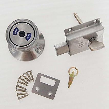 54651323 chiavistello con indicatore occupato/libero per porte di ...