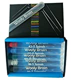 Needle Felting Needle Set - 5 each of 5 Types: 36-Triangle, 38-Spiral, 40-Reverse, 40-Spiral, and 42-Spiral