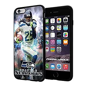diy zhengNFL Seattel Seahawks , Cool iphone 5c Smartphone Case Cover Collector iphone TPU Rubber Case Black