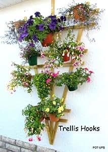 Pot Hooks - Enrejado para colgar 6 macetas de 15,24cm, pack of 18