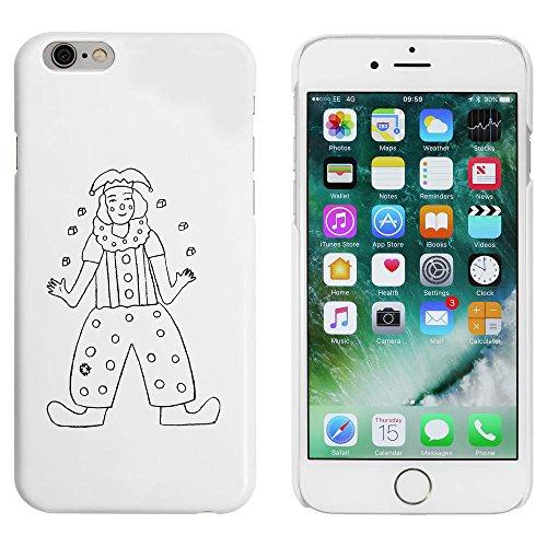Blanc 'Jjonglerie de Clown' étui / housse pour iPhone 6 & 6s (MC00039790)