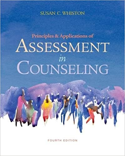 Image result for principles and applications of assessment in counseling