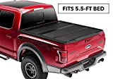 Undercover ArmorFlex Hard Folding Truck Bed Tonneau Cover | AX22019 | fits UnderCover Armor Flex 2015-2019 Ford F-150 5.5ft Short Bed Ext/Crew