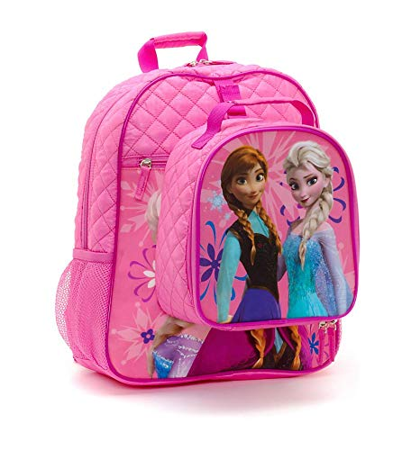 ea1d23ddd9 Disney Store Zaino Scuola Elementare Per Bambina Il Regno Di Ghiaccio Frozen  Anna Elsa Con Borsa