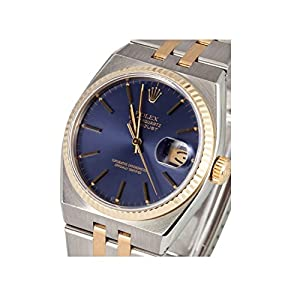Rolex Datejust analog-quartz mens Watch 17013 (Certified Pre-owned)