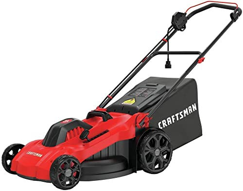 CRAFTSMAN Electric Lawn Mower, 20-Inch, Corded, 13-Ah CMEMW213