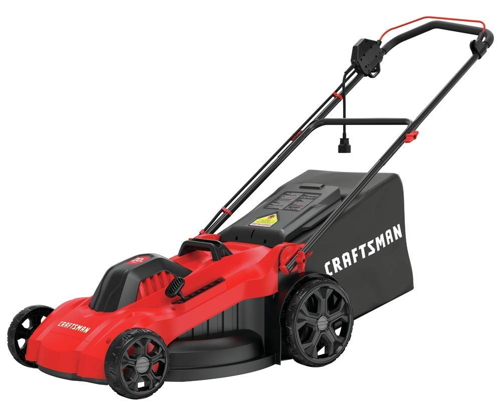 CRAFTSMAN Electric Lawn Mower, 20-Inch, Corded, 13-Ah (CMEMW213) by Craftsman