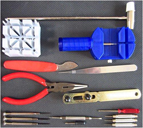 16-in-1 Tool Set Kit for Watch Repair - - 2