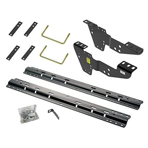 Reese 50064-58 Custom Fifth Wheel Brackets with 10-Bolt Rail Kit for Chevrolet, GMC, Silverado and Sierra